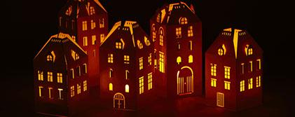 Lampes for Deco laser maison